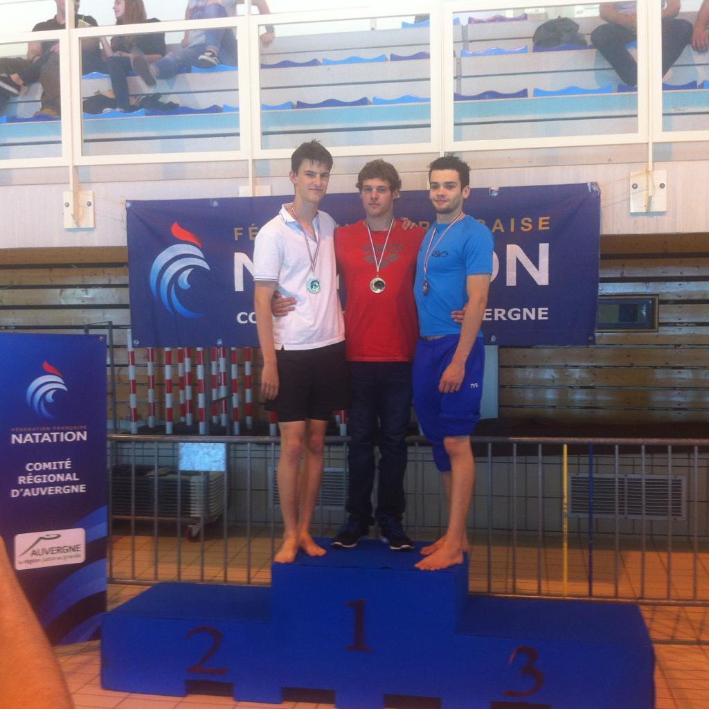 Championnats régional été (50m)
