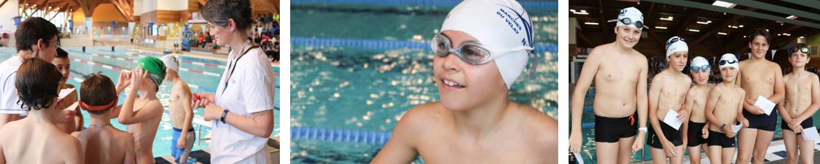 école de natation monistrol